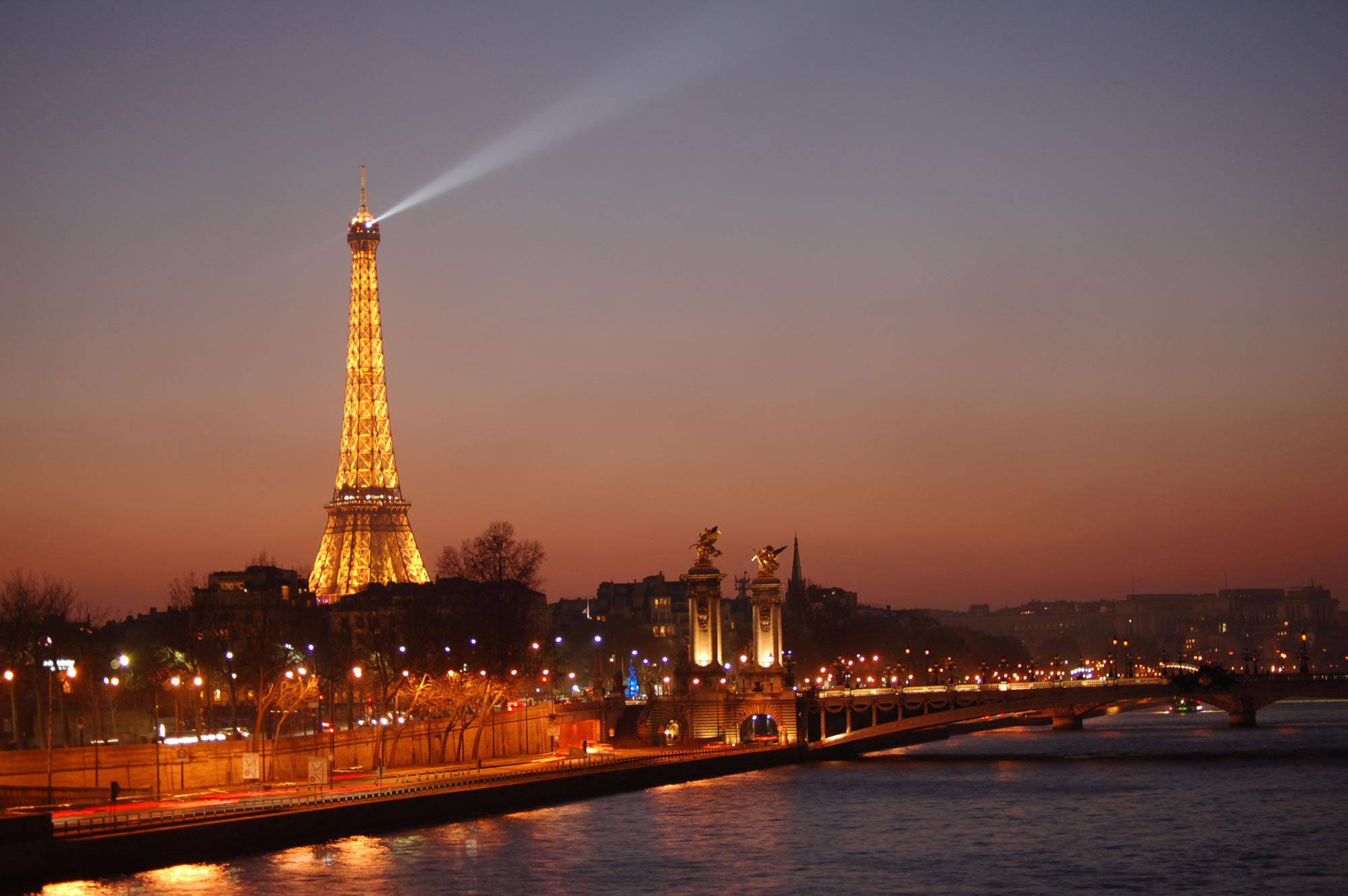 Parigi classica ville lumiere