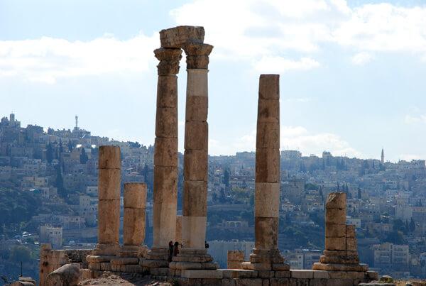 the citadel - Amman