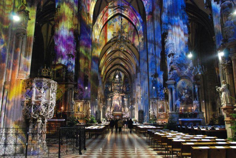 Cattedrale di Santo Stefano Vienna interni