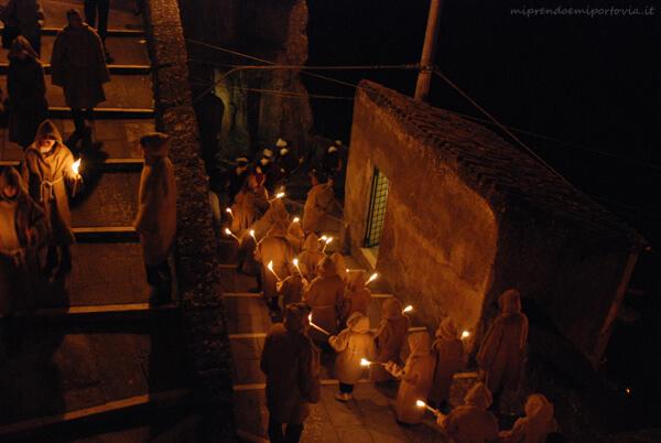 Pitigliano torciata di San Giuseppe