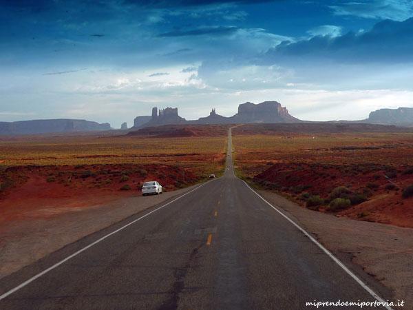 viaggio on the road negli stati uniti
