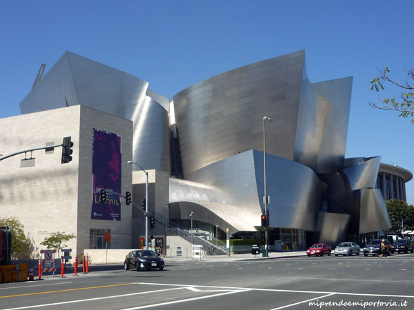 Walt Disney concert Hall a Los Angeles