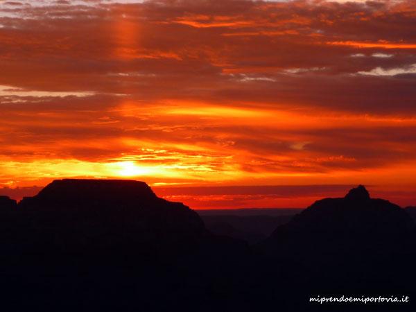 alba sul Grand Canyon