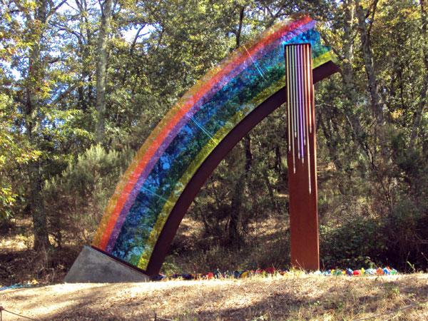 chianti sculpture park dove l'arte incontra la natura