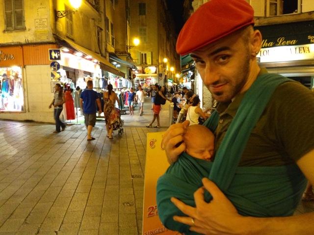 face porta bebè