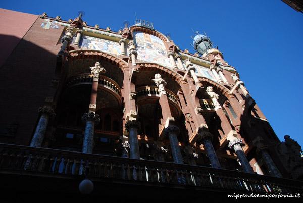 Modernismo a Barcellona Palau de la Musica Catalana