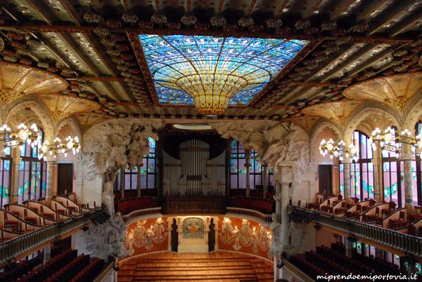 Modernismo Barcellona Palau de la Musica Catalana