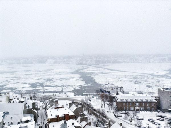 viaggio in inverno in quebec