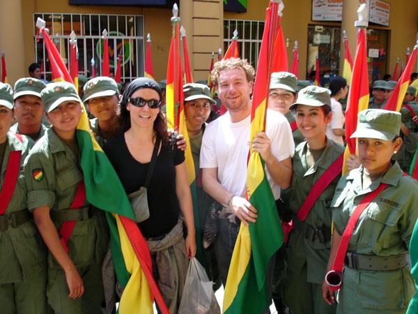 Volontariato in Bolivia