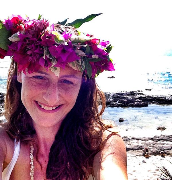 corona fiori tahiti