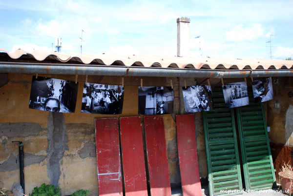 sui tetti di via Roma per le mostre di Fotografia Europea