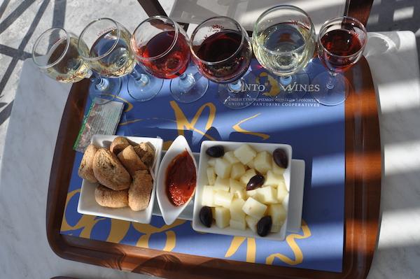 cantine vinicole Santorini