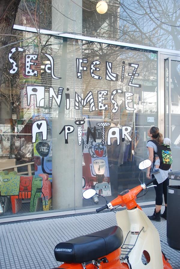 Quartiere Palermo di Buenos Aires