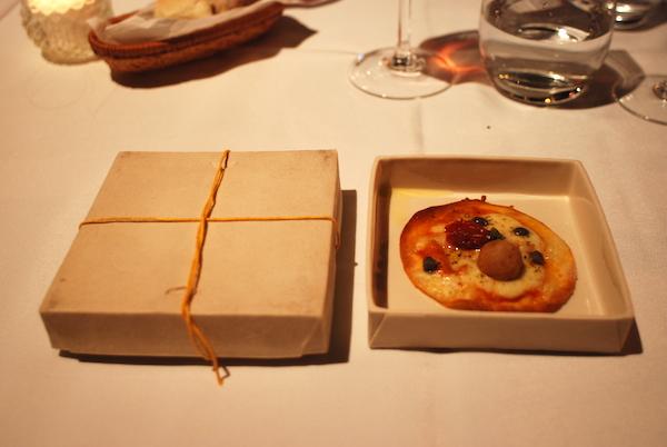 Restaurante Paraje Arévalo presentazione piatti