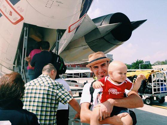volare con un neonato