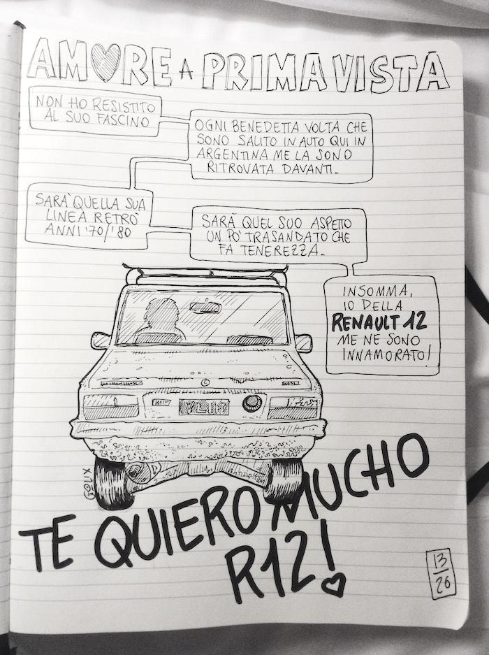 diario di viaggio a fumetti da Cordoba a Mendoza