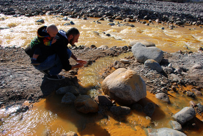 rio amarillo chilecito argentina