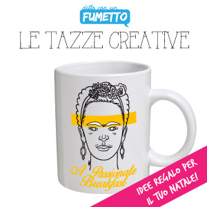 Tazza Merchandise Mug Shop Dillo con un fumetto