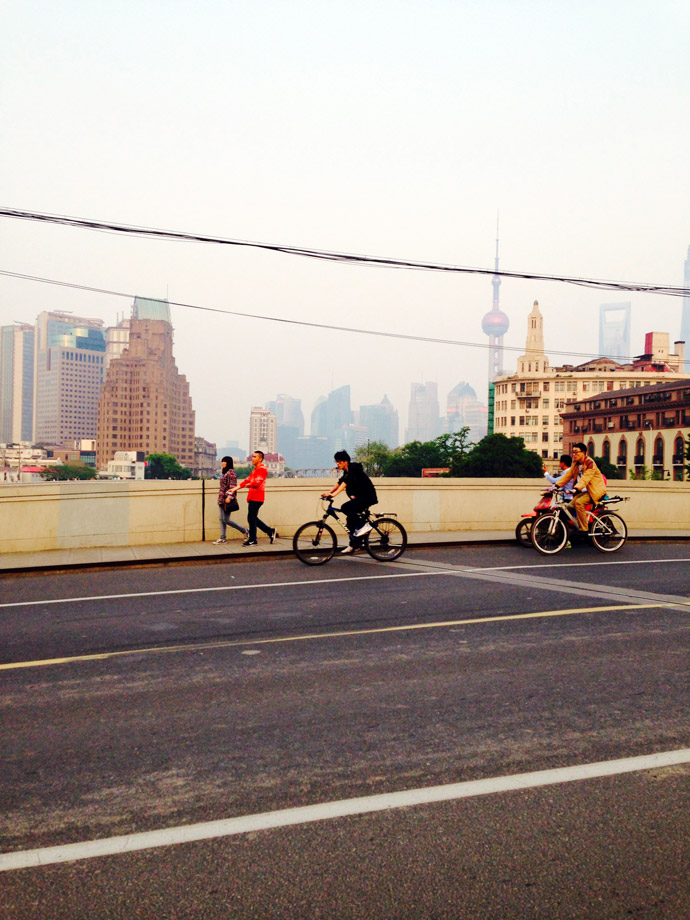vivere in Cina