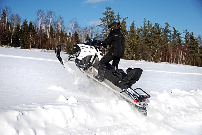 Québec in motoslitta