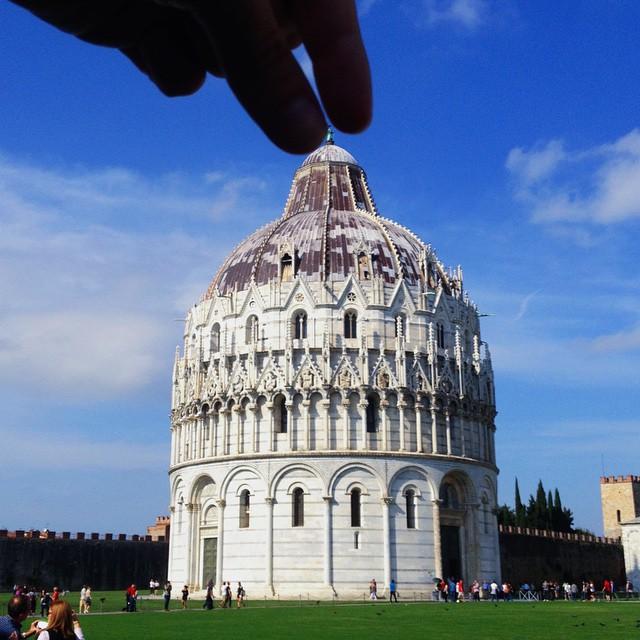 Il Battistero di San GIovanni di Pisa