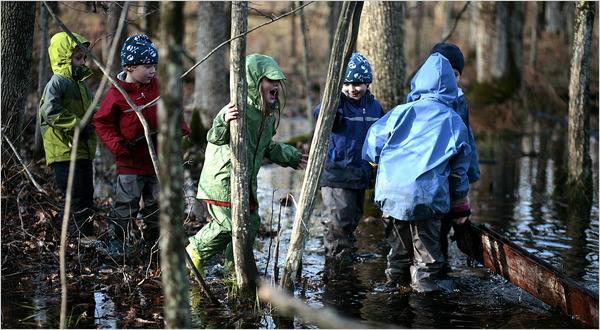 scuola nel bosco