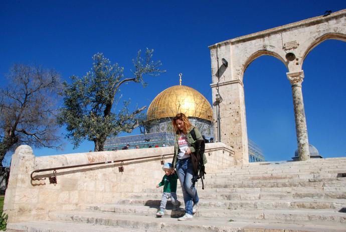 viaggiare in israele coi bambini