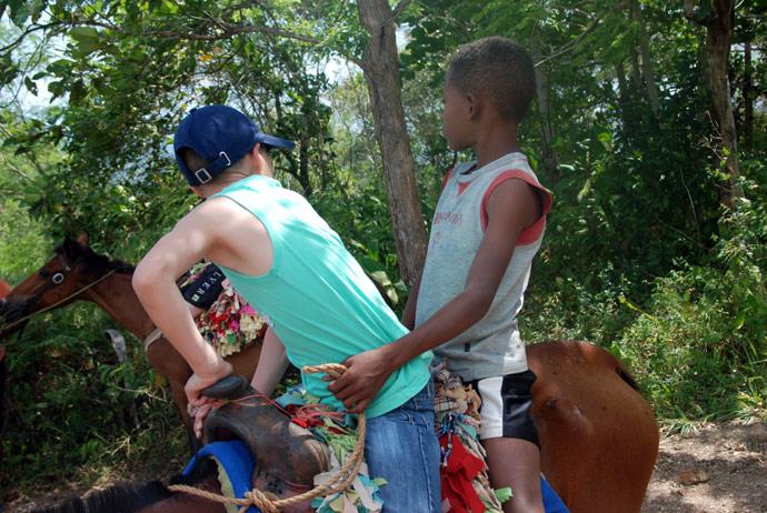 gita a cavallo repubblica dominicana