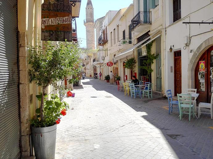 diario di viaggio a Creta a maggio
