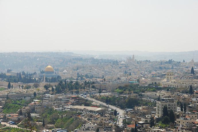 israel skyline