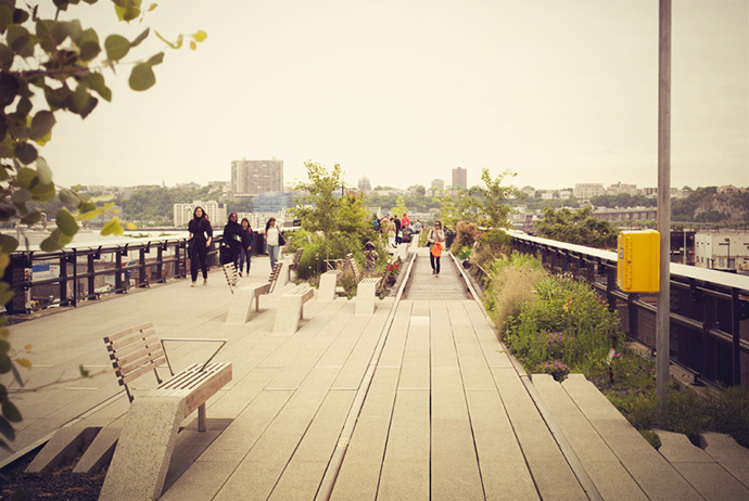 Cosa fare a New York: High Line Park