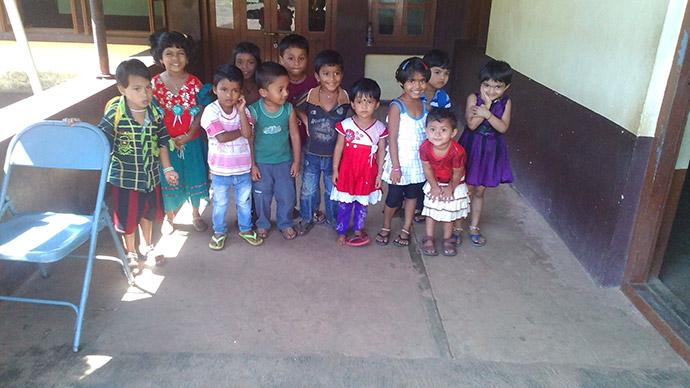 bambini dell'India