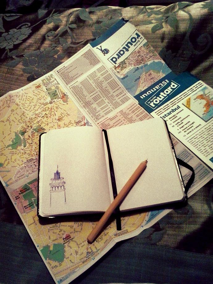 Pinterest in viaggio