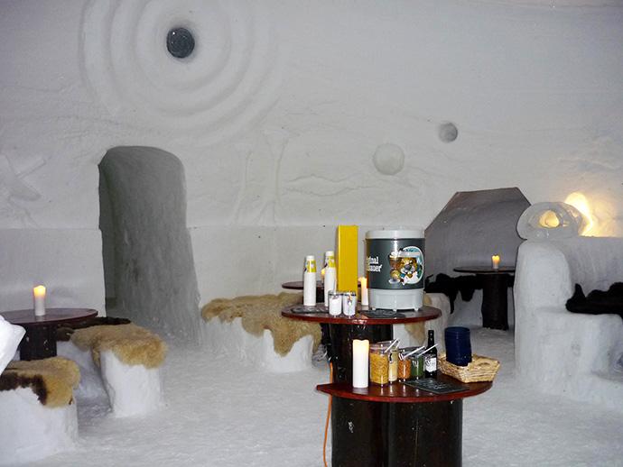 Dormire in un igloo