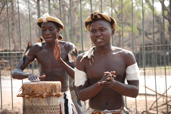 Viaggio in Africa: danze