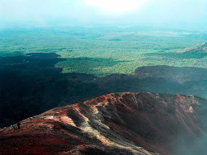 Viaggio in Nicaragua: vulcani