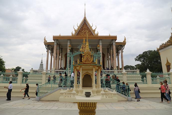 diario di viaggio in Cambogia Royal Palace