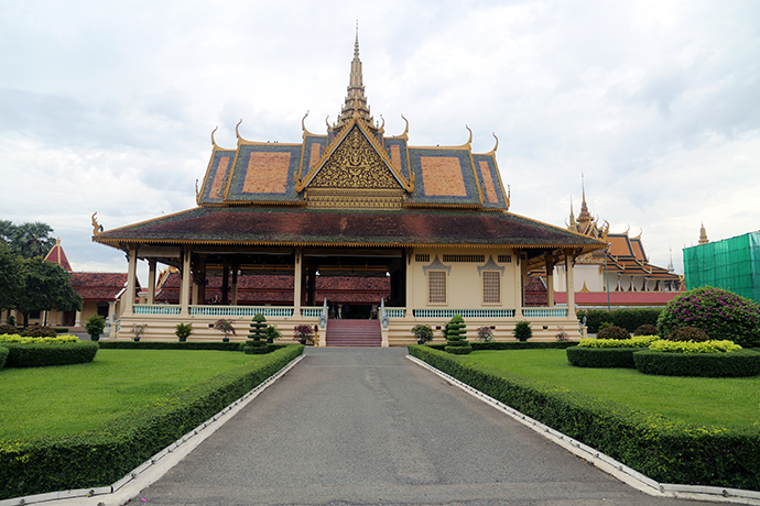 diario di viaggio in Cambogia Royal Palace