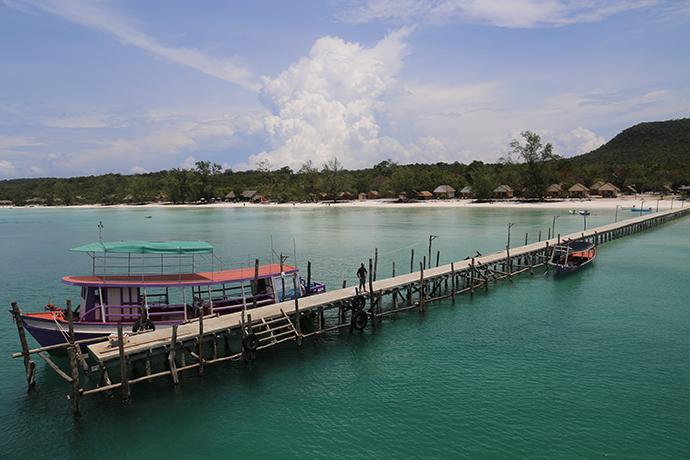 diario di viaggio in Cambogia spiagge