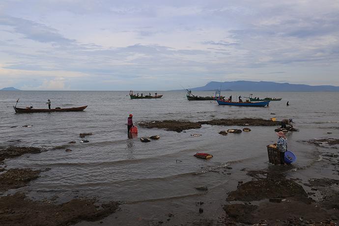 Itinerario di viaggio in Cambogia Kep mercato del pesce