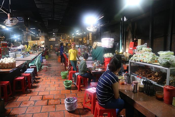 diario di viaggio in Cambogia: Russian Market