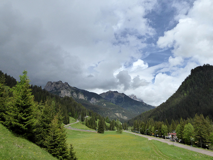 Weekend in Val di Fiemme con la pioggia