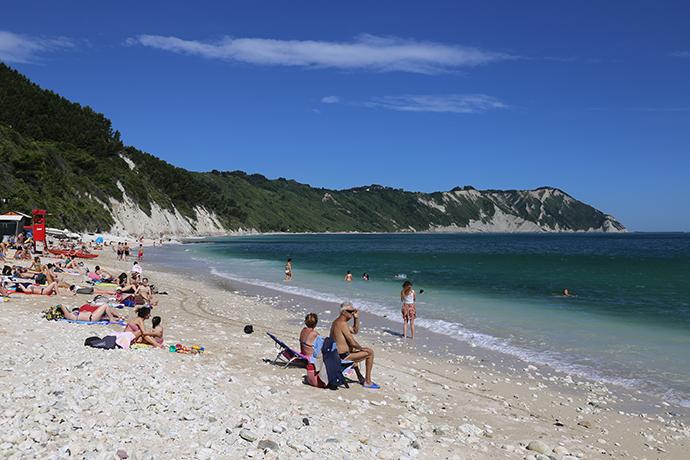 Cosa fare al Conero - spiaggia di Portonovo