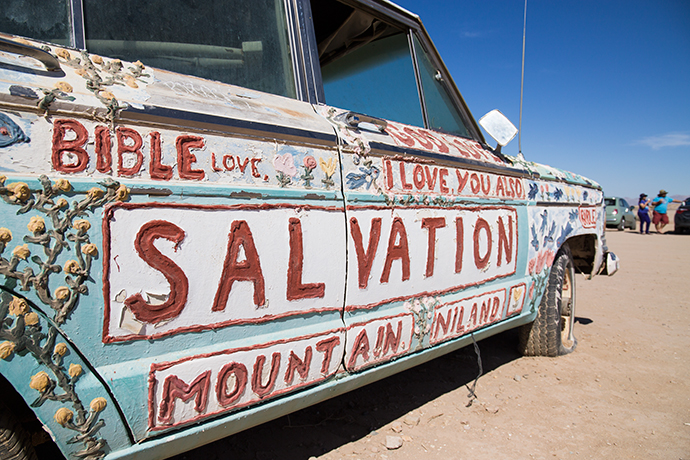 Salvation Moutain California