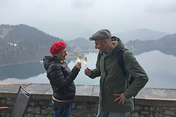 Weekend romantico al lago di Bled