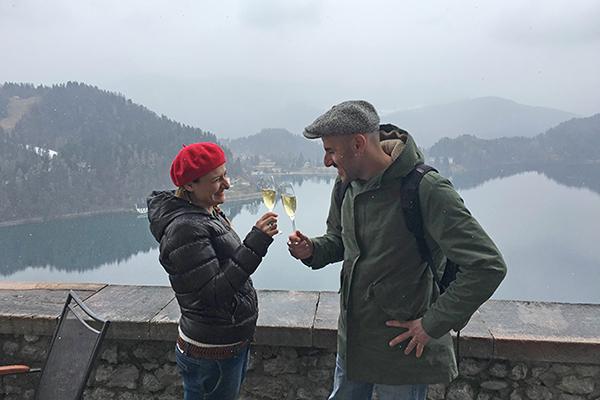Weekend romantico al lago di Bled