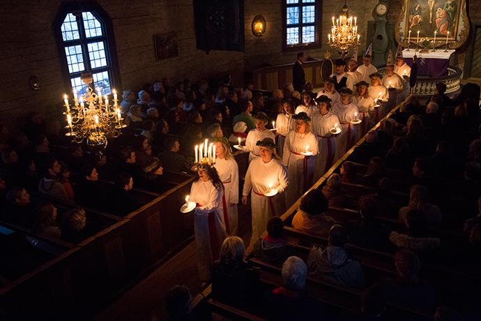 Santa Lucia svedese dove vederla
