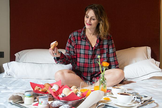 colazione in camera Castel Merlo