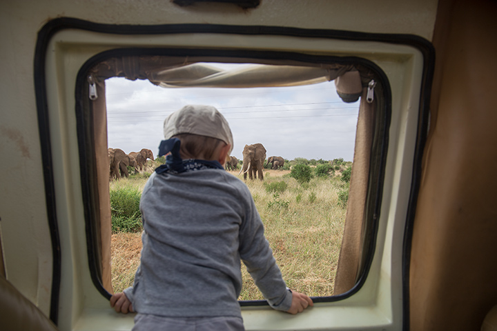safari in Kenya con bambini