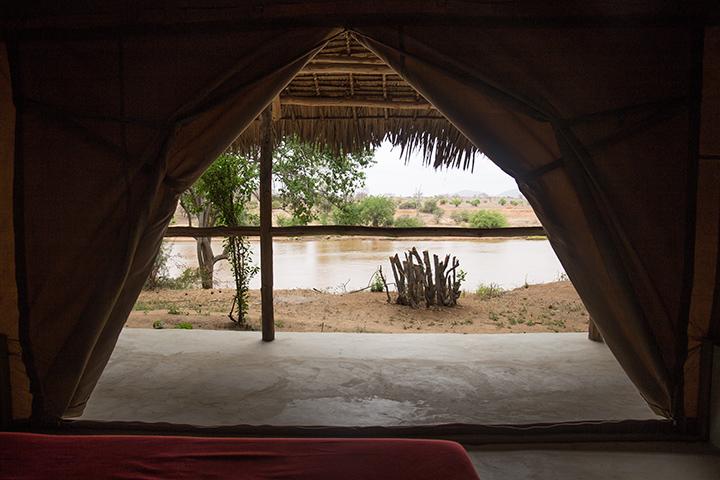 safari in Kenya Shoroa camp